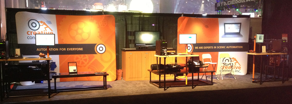 Creative Conners at LDI 2012 - Our booth