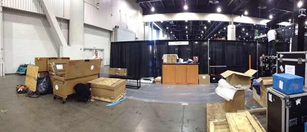 Creative Conners at LDI 2012 - the load-in