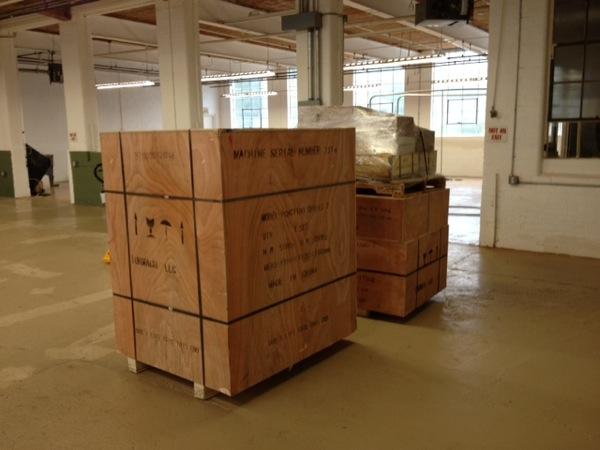 Tormach crates