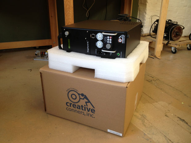 Our new packaging solution for our Stagehand motor controllers